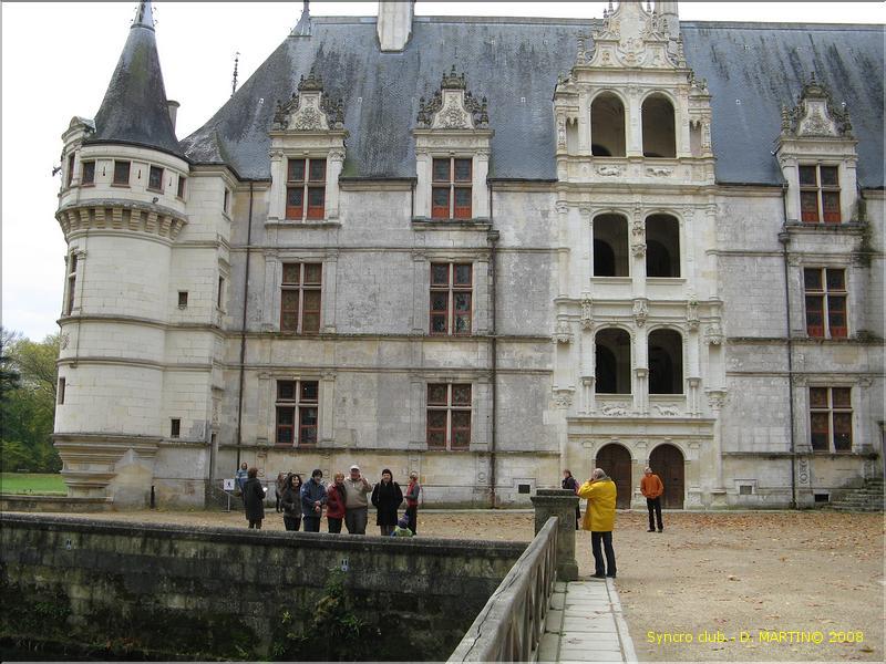 Visite du Chateau d\'Azay le Rideau